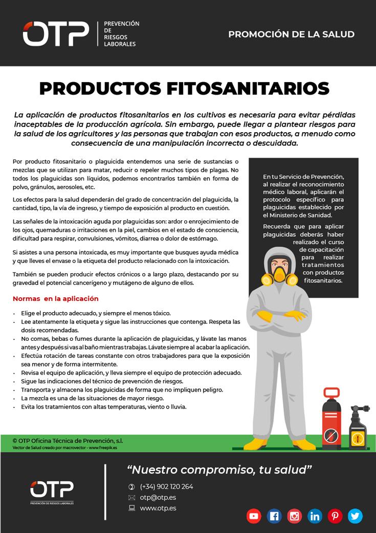 Promocion de la salud productos fitosanitarios
